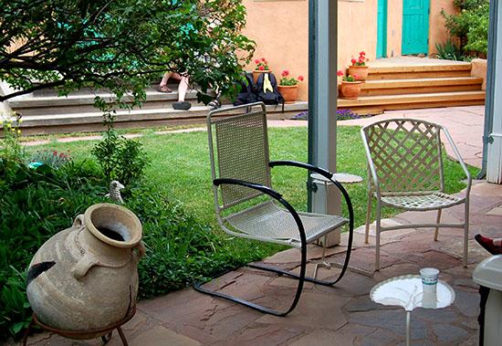 patio & backyard